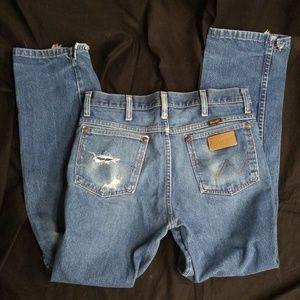 Wrangler Jeans High Waisted Vintage Sz 31/31